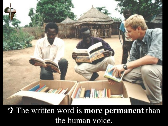 Bibles for Africa - Frontline Fellowship